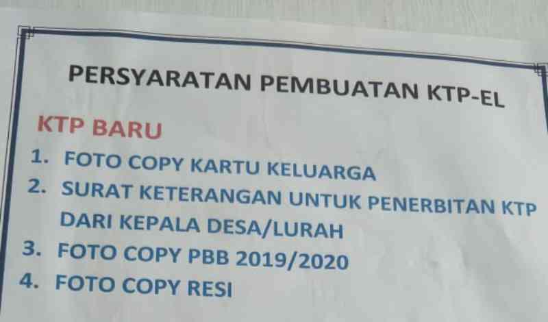 Syarat Dan Cara Membuat Ktp Indonesia Bagi Wni Dan Wna