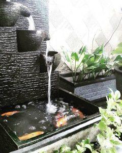 7 desain kolam ikan koi minimalis yang sederhana
