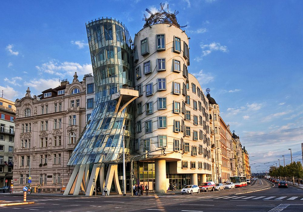 dancing house republik ceko