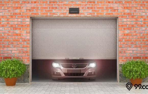 pintu lipat besi