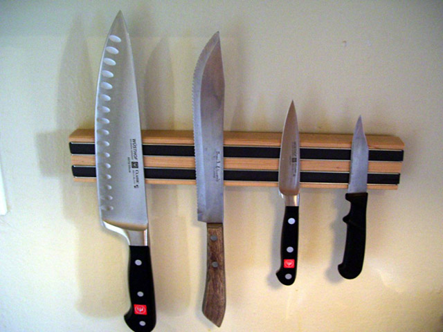 cara menyimpan pisau dapur