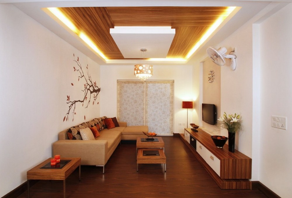 plafom kayu minimalis