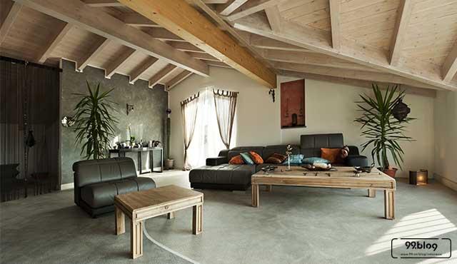 plafon kayu