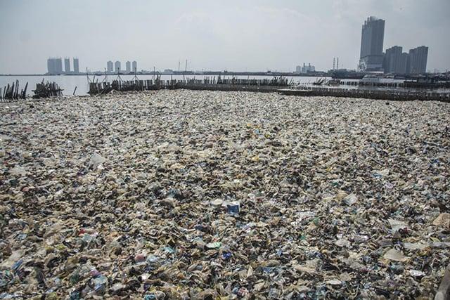 penggunaan kantong plastik