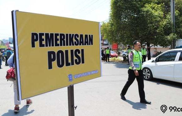 plat kendaraan rawan razia polisi