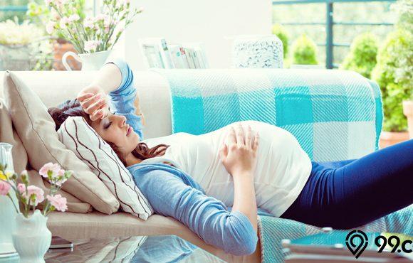 posisi tidur ibu hamil yang benar