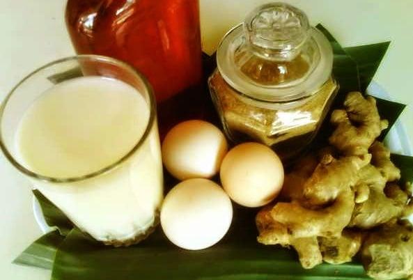jamu telur madu bawang putih