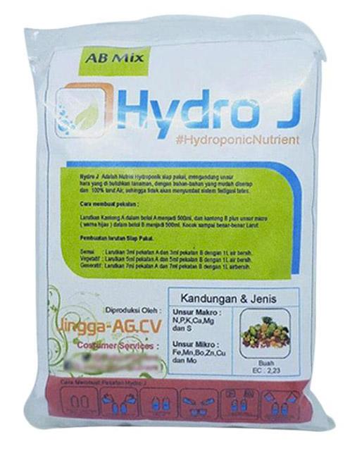 pupuk hidroponik hydro j