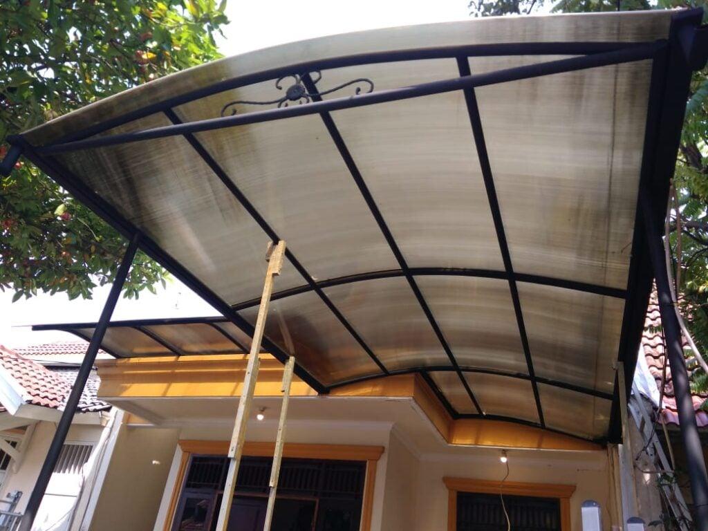 cara memasang kanopi