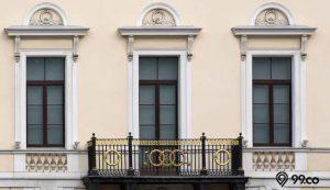 desain railing balkon