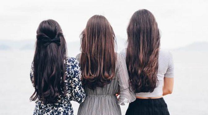 rambut sehat dan berkilau