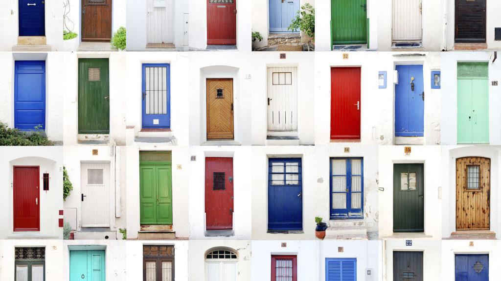 fengshui warna pintu rumah