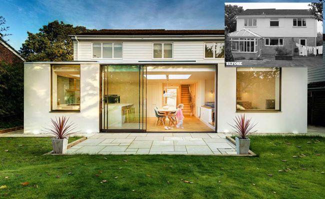 renovasi rumah rombak total