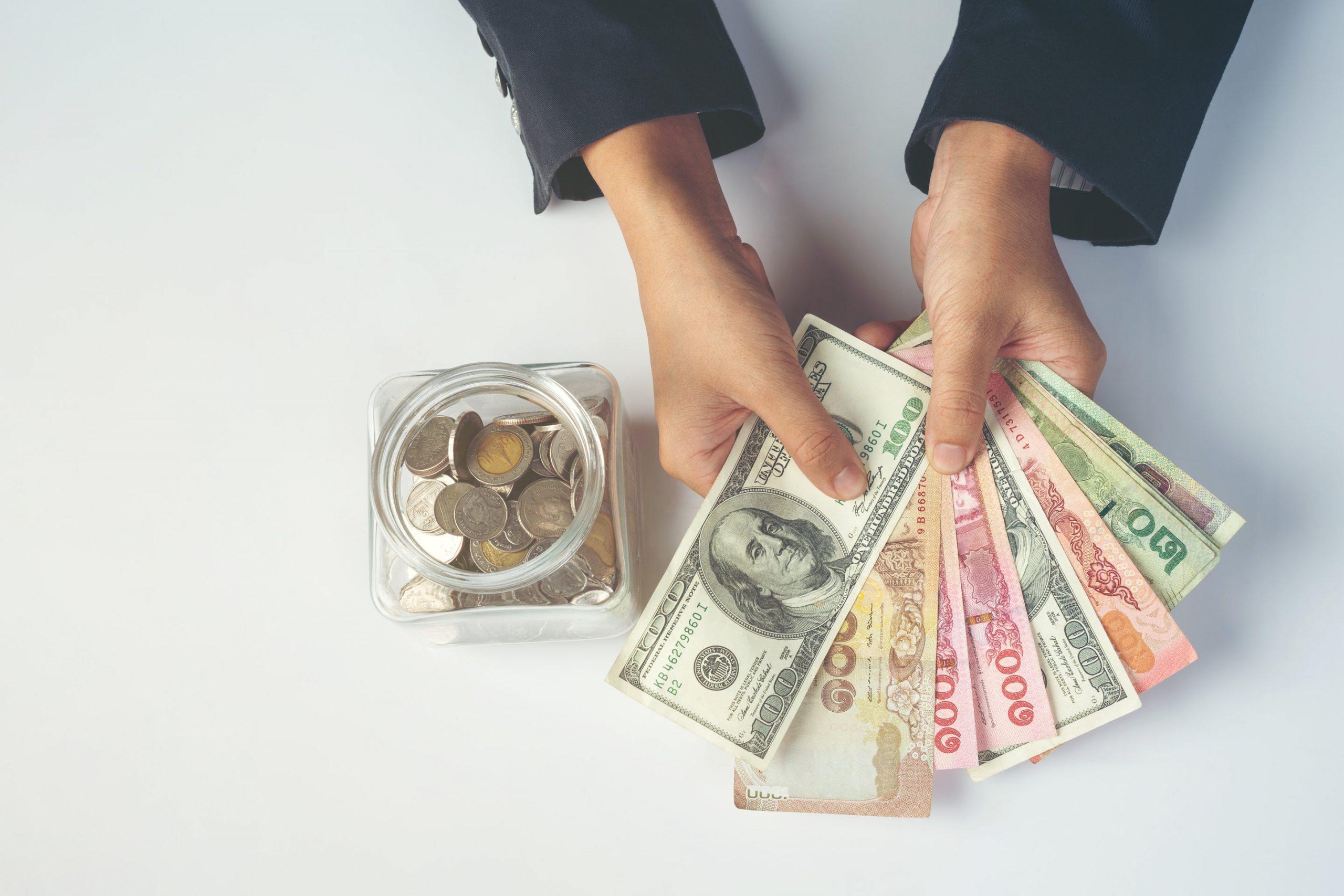 simpan uang gajian untuk keluar dari rumah mertua