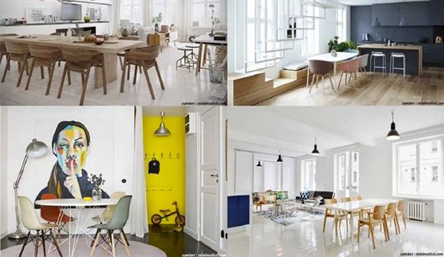 20 Desain Ruang Makan Minimalis & Nyaman Bergaya Skandinavia
