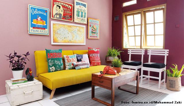 Ruang Tamu Kecil Yang Menarik Berkesan Dengan 6 Inspirasi Desain Ini