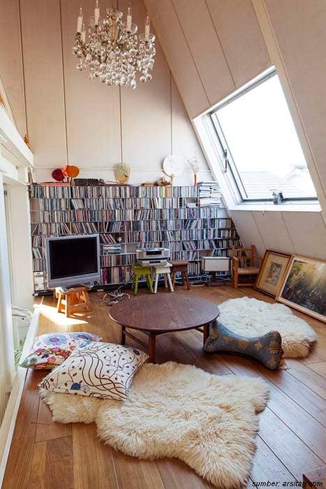 12 Desain Ruang Tamu Lesehan Untuk Hunian Minimalis