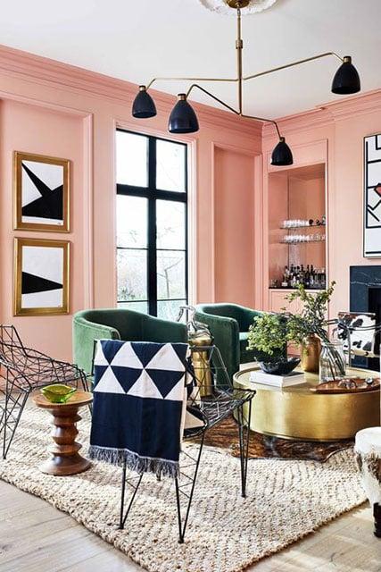 7 Inspirasi Warna Cat Tembok Ruang Tamu Yang Menawan