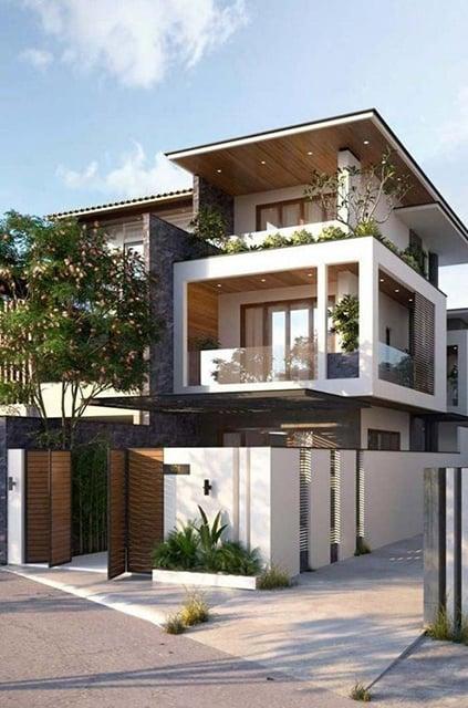 9 Inspirasi Desain Rumah 3 Lantai Minimalis Hingga Tradisional