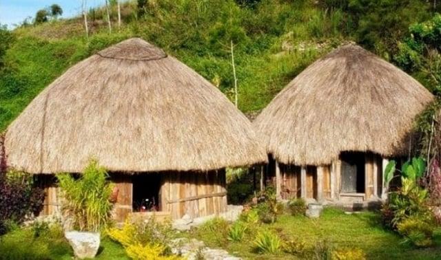 rumah adat papua hanoi