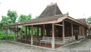 rumah adat yogyakarta bangsal kencono