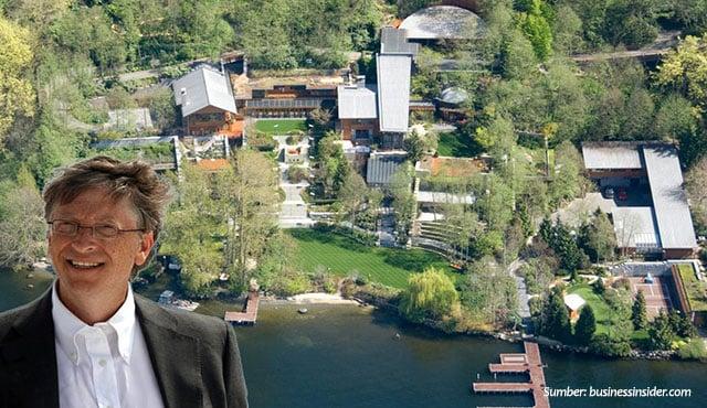 Dituding Otak Konspirasi Elit Global, Ini Penampakan Rumah Bill Gates Seharga Rp1,9 Triliun!