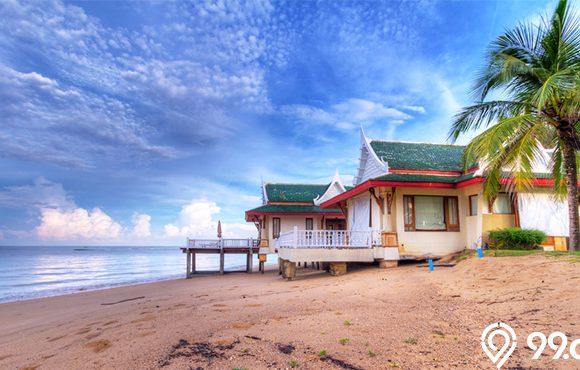 rumah dekat pantai