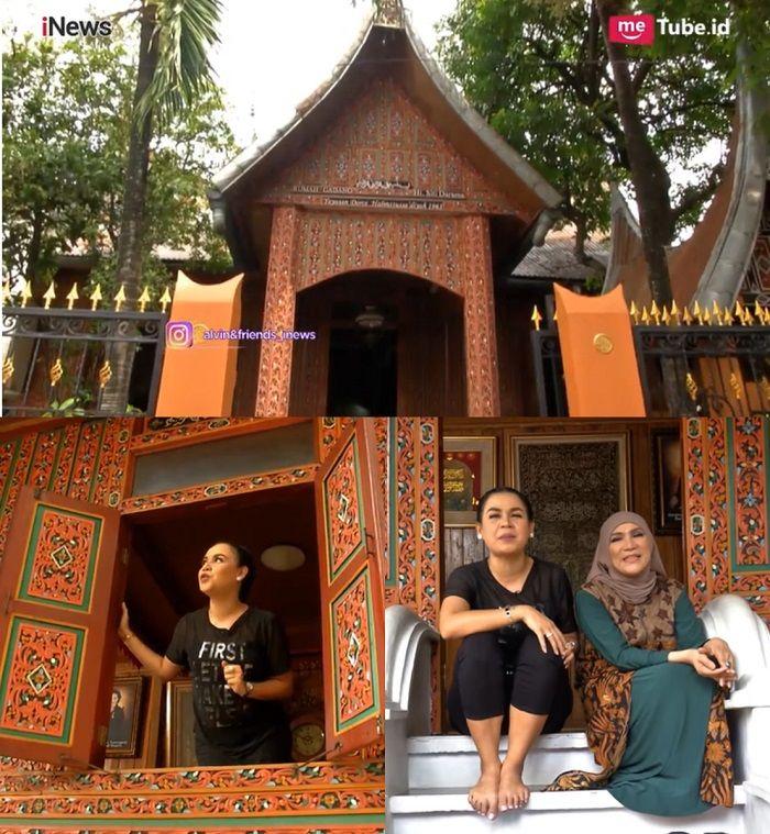 rumah gadang dorce gamalama