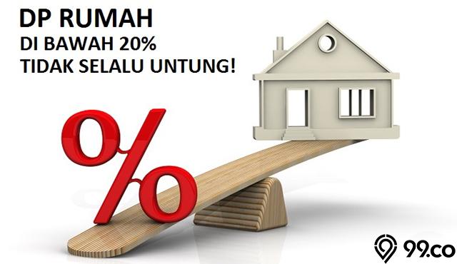 Tidak Selalu Untung! Ini Kerugian Beli Rumah dengan DP Rendah di Bawah 20%