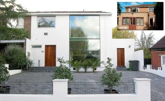 rumah fasad kaca