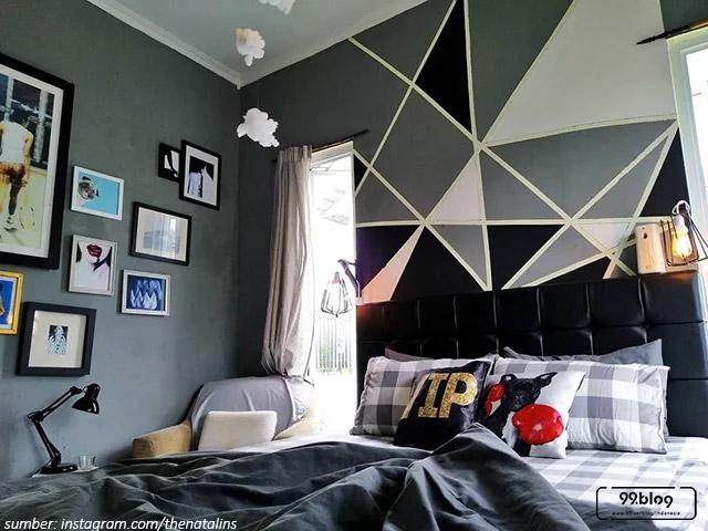 rumah yang instagramable bergaya maskulin