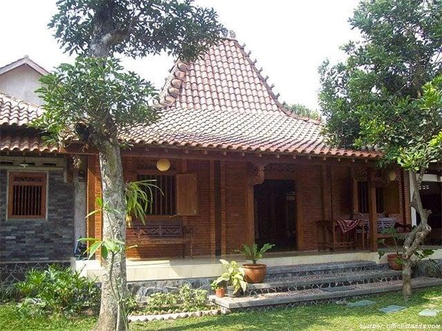8 Inspirasi Teras Rumah Limasan Ala Arsitektur Tradisional Jawa