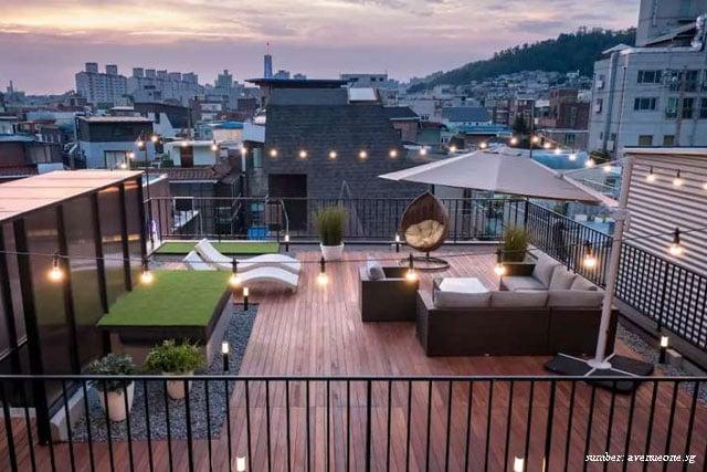 rumah rooftop korea