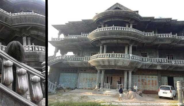 Rumah Kosong Misterius Ini Dijual Rp9 Miliar. Siapa Pemiliknya?