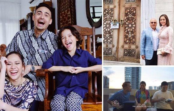 rumah luar negeri selebriti indonesia