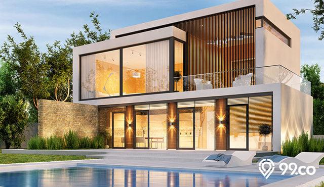 8 Desain Rumah Mewah 2 Lantai Yang Kekinian Mana Pilihanmu