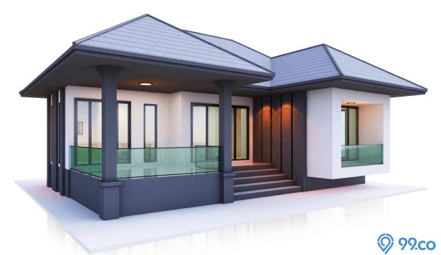 20 Inspirasi Denah Rumah Minimalis 1 Lantai Terfavorit Tahun 2020
