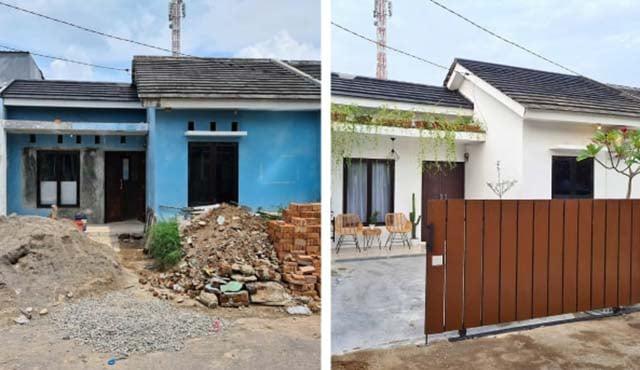 Kisah Viral Netizen Renovasi Hunian Jadi Rumah Minimalis Yang Estetik
