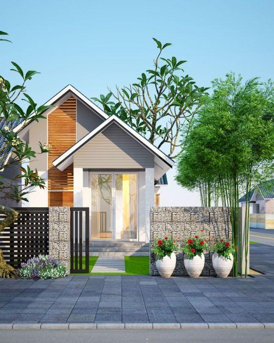 rumah minimalis natural
