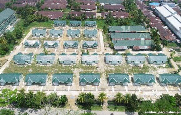 rumah minimalis type 36 TNI AD pontianak