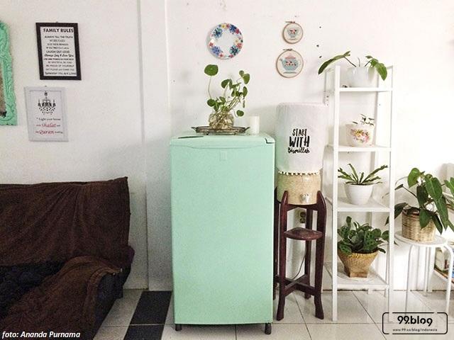 rumah minimalis bergaya vintage