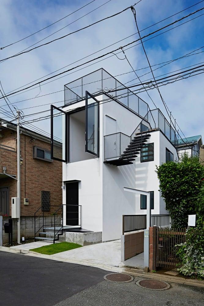 7 Contoh Rumah Mungil Compact House Untuk Lahan Sempit