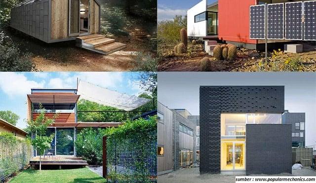 5 Gambar Rumah Ramah Lingkungan. Mungil namun Memukau!