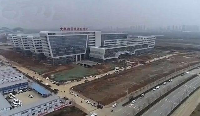 china bangun rumah sakit