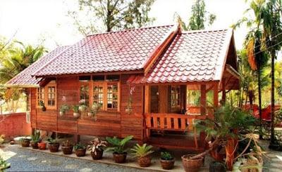 12 Desain Rumah Sederhana Di Desa Asri Bikin Betah
