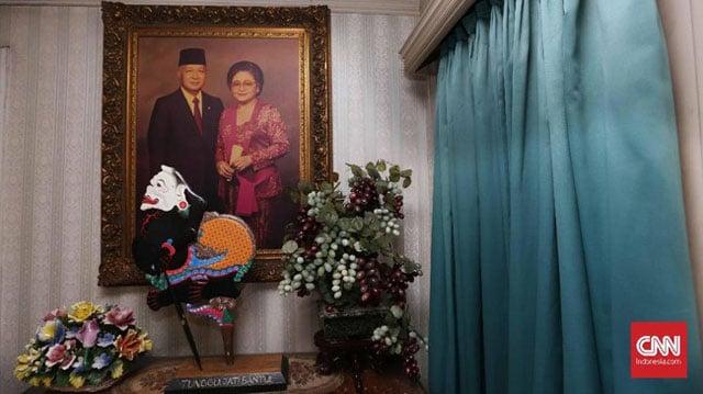 lukisan rumah soeharto