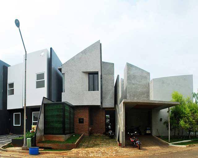 rumah tanpa pagar