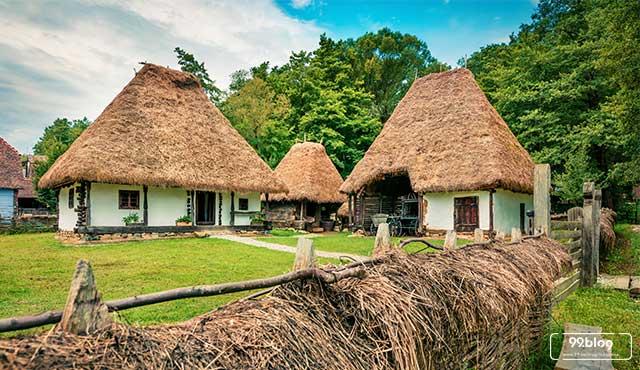 rumah tradisional dunia