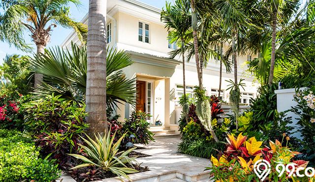 rumah tropsi modern