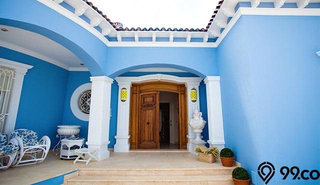 Inspirasi  Cat  Rumah  Warna  Biru  yang Dapat Mengatasi Stres